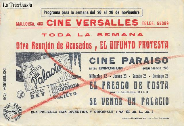 El Difunto Protesta - Programa de Cine - Robert Montgomery - Evelyn Keyes
