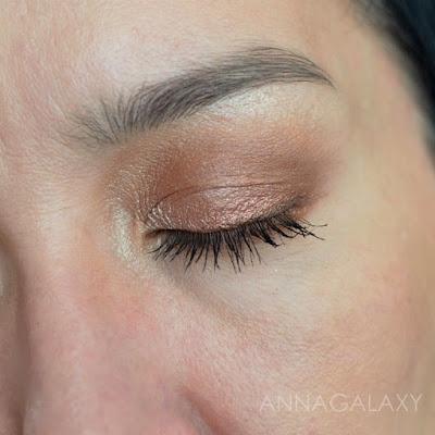 Жидкие тени для век Luxvisage Liquid Metal Hype eyeshadow 4 в макияже