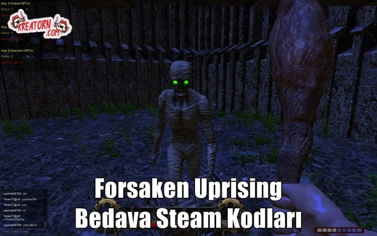 Forsaken Uprising - Bedava Steam Kodları