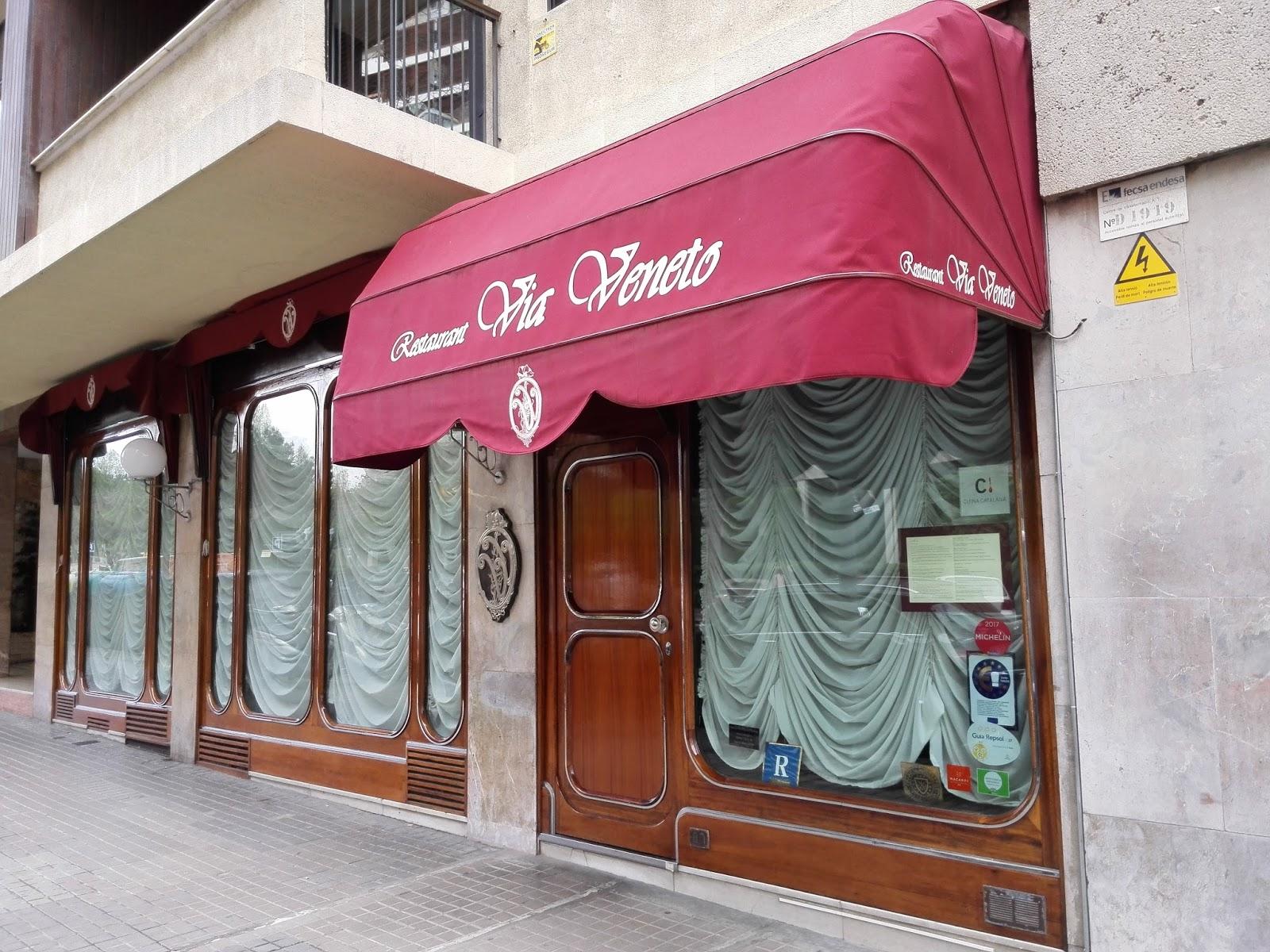 Restaurante via veneto barcelona la cocina de los for La cocina de los valientes