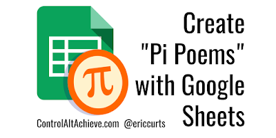 "Create ""Pi Poems"" with Google Sheets"
