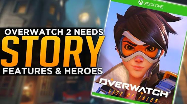 """""""Overwatch 2"""" will focus more on the story mode"""