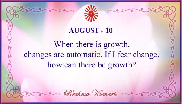 Thought For The Day August 10