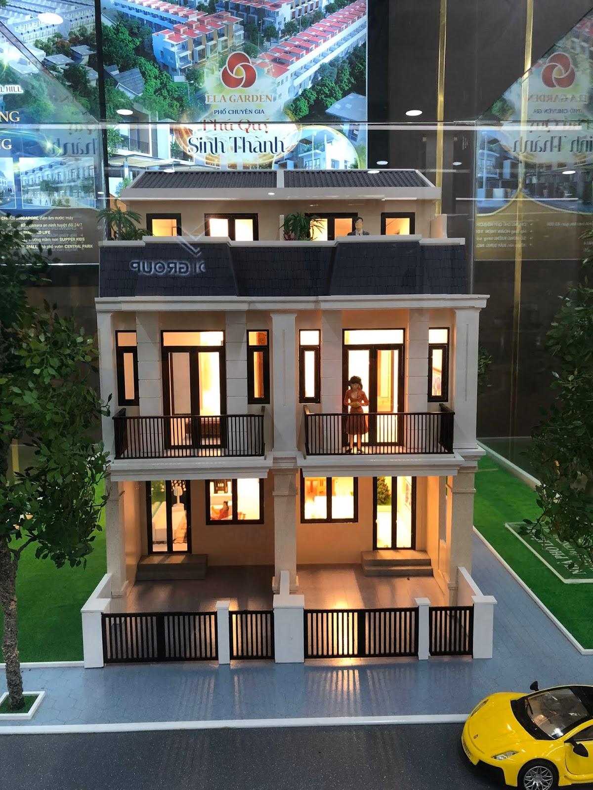 Mô hình Nhà phố Thắng Lợi Central Hill