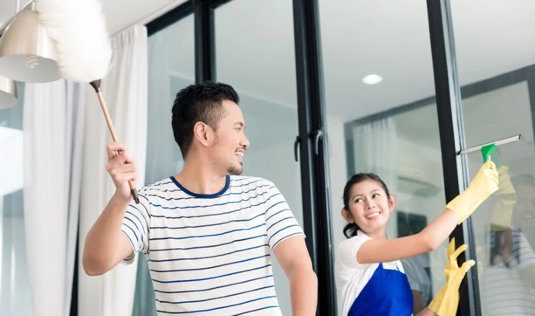10 Petua Bersihkan Rumah Dari Kotoran Dengan Cepat Dan Murah