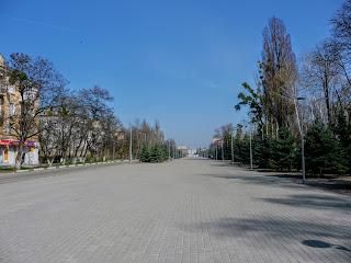 Новомосковськ. Площа Героїв