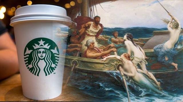 Simak Penjelasan Gambar Wanita di Logo Starbucks