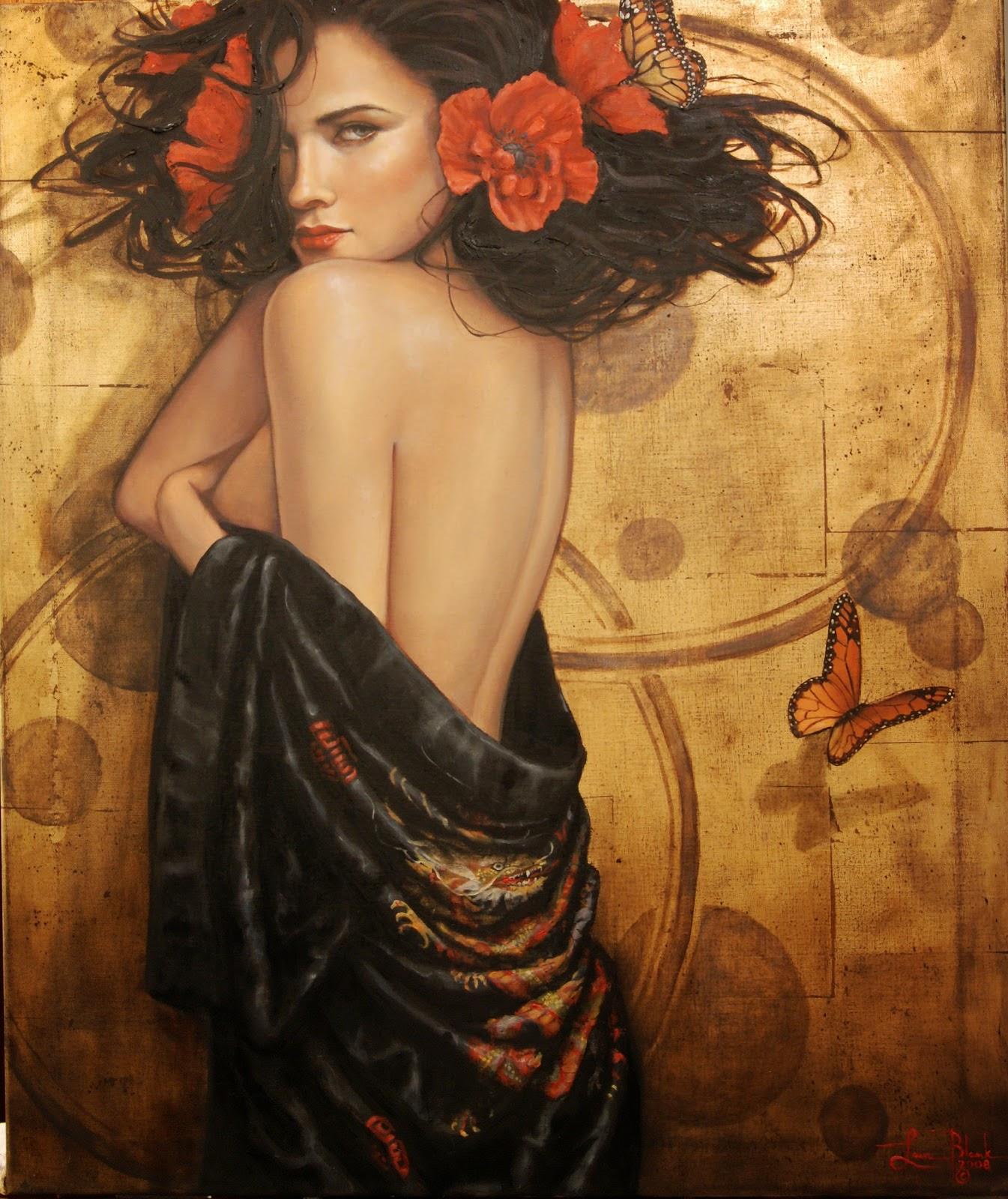 Vênus - Lauri Blank e suas pinturas cheias de emoções