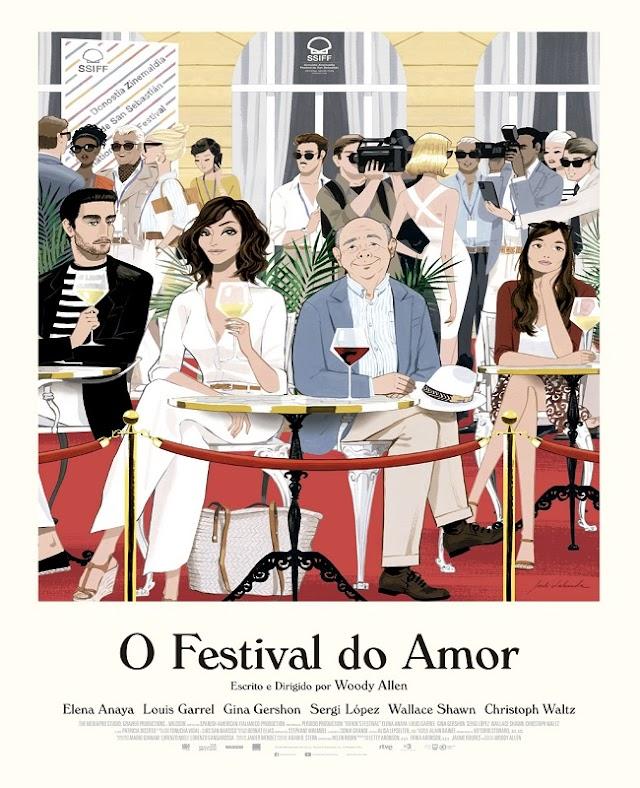 O FESTIVAL DO AMOR | Filme dirigido por Woody Allen ganha trailer e previsão de estreia