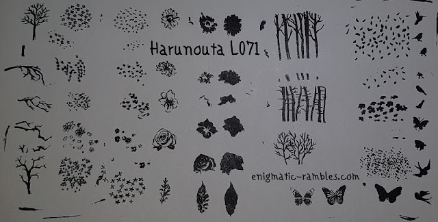 Stamping-Plate-Review-Harunouta-L071-Layering-Nature-Design