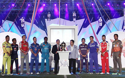IPL Trophy All Teams Captains With Ipl Cup