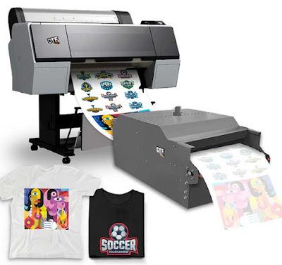 mesin DTF printing