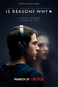 cartaz 13 Reasons Why - blog #tas