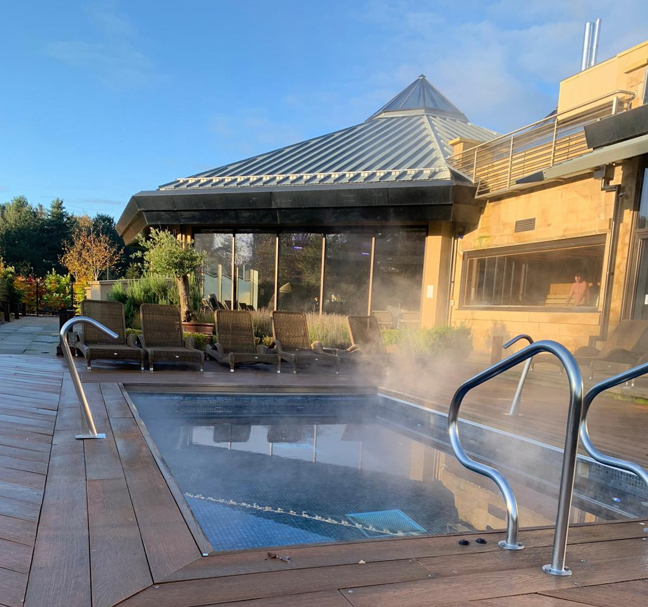 13 Reasons Why Ramside Spa is the Best North East Spa - outdoor spa pool