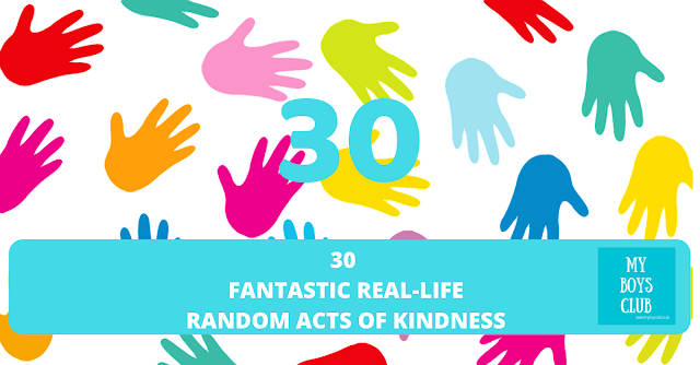 30 Fantastic Real-Life Random Acts of Kindness