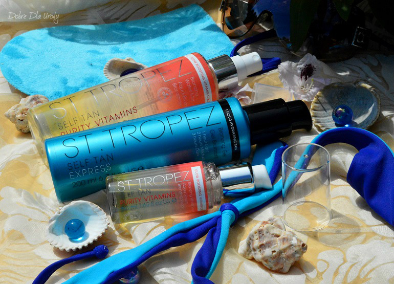 Kosmetyki samoopalające St.Tropez recenzja