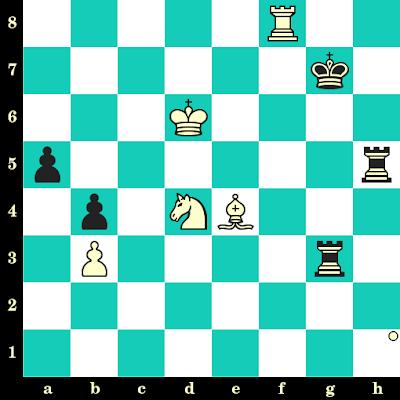 Les Blancs jouent et matent en 2 coups - Alexandra Kosteniuk vs Tatiana Shumiakina, Kazan, 2004