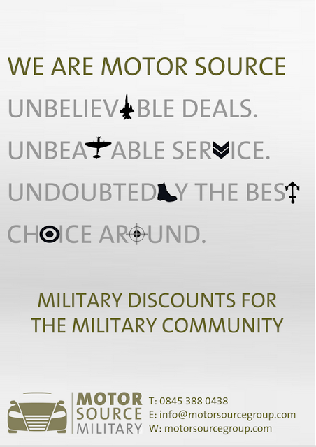 BRAMCOTE and KINETON HIVE: Motor Source Military Discounts