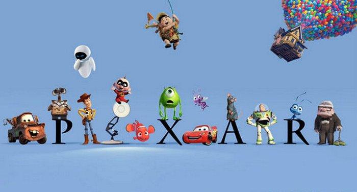 Logo Pixar Animation Studios, a wholly-owned subsidiary of The Walt Disney Company, film animasi terbaru terbaik terpopuler sepanjang sejarah myanimelist
