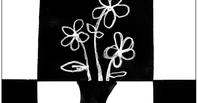 Positive Negative Drawing Art Projects For Kids