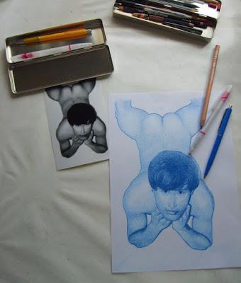 photo, dessin, bic, crayon, numérique, boîte, stylo à bille, tableau à l huile, caran d ache, luminance 6901
