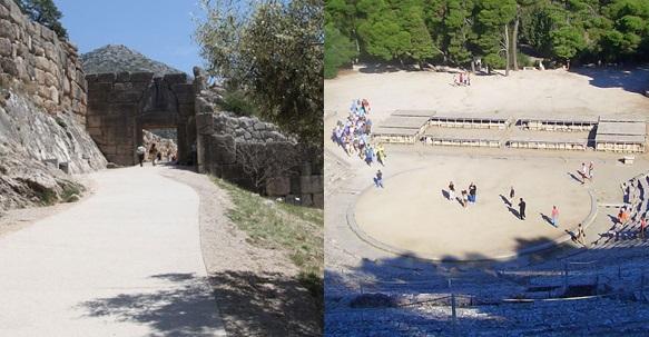 Επίδαυρος και Μυκήνες στους  5 πρώτους αρχαιολογικούς χώρους σε επισκεψιμότητα για το 2019
