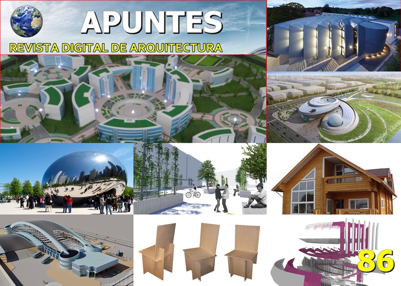 Apuntes Revista Digital De Arquitectura Junio 2016