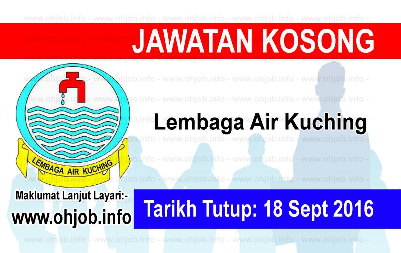Jawatan Kerja Kosong Lembaga Air Kuching logo www.ohjob.info september 2016