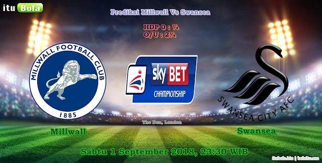 Prediksi Millwall Vs Swansea - ituBola