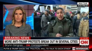 Flashback: CNN and MSNBC Helped Russia Sow Discord by Promoting Fake Anti-Trump Rally