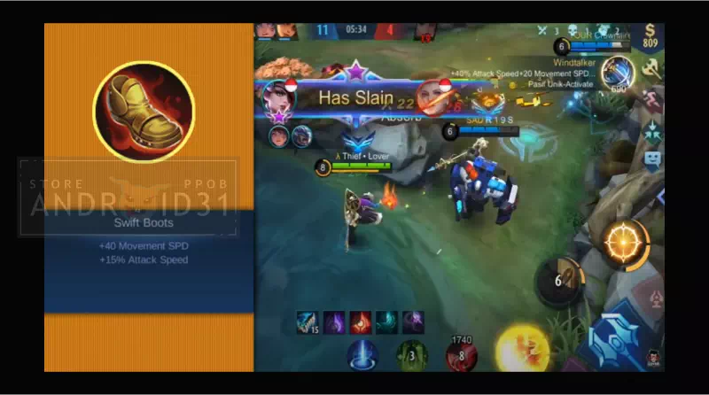 Swift Boots Mobile Legends