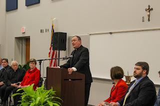 Montgomery Catholic Dedicates New Performing Arts Building 2
