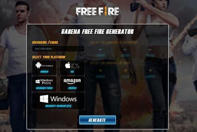 Layanan online generator diamonds dan coins Free Fire semakin banyak bermunculan Appsmob Info Free Fire Hack 2020 Diamonds Coins Free Fire