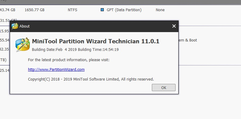minitool partition wizard iso boot