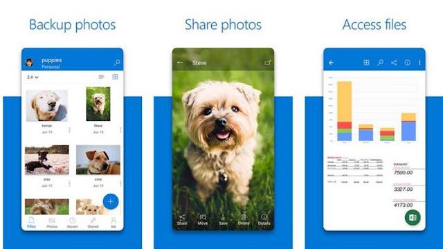 Cara Menambah Memori Internal Android - Microsoft OneDrive