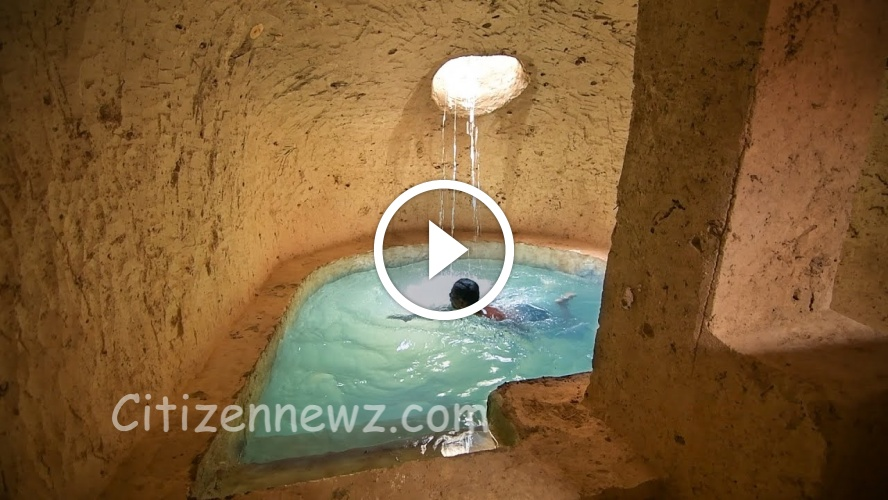 எம்புட்டு அழகா தனி ஆளா இப்படி ஒரு Swimming Pool கட்டி இருக்கான் … பாராட்ட வார்த்தை இல்லை