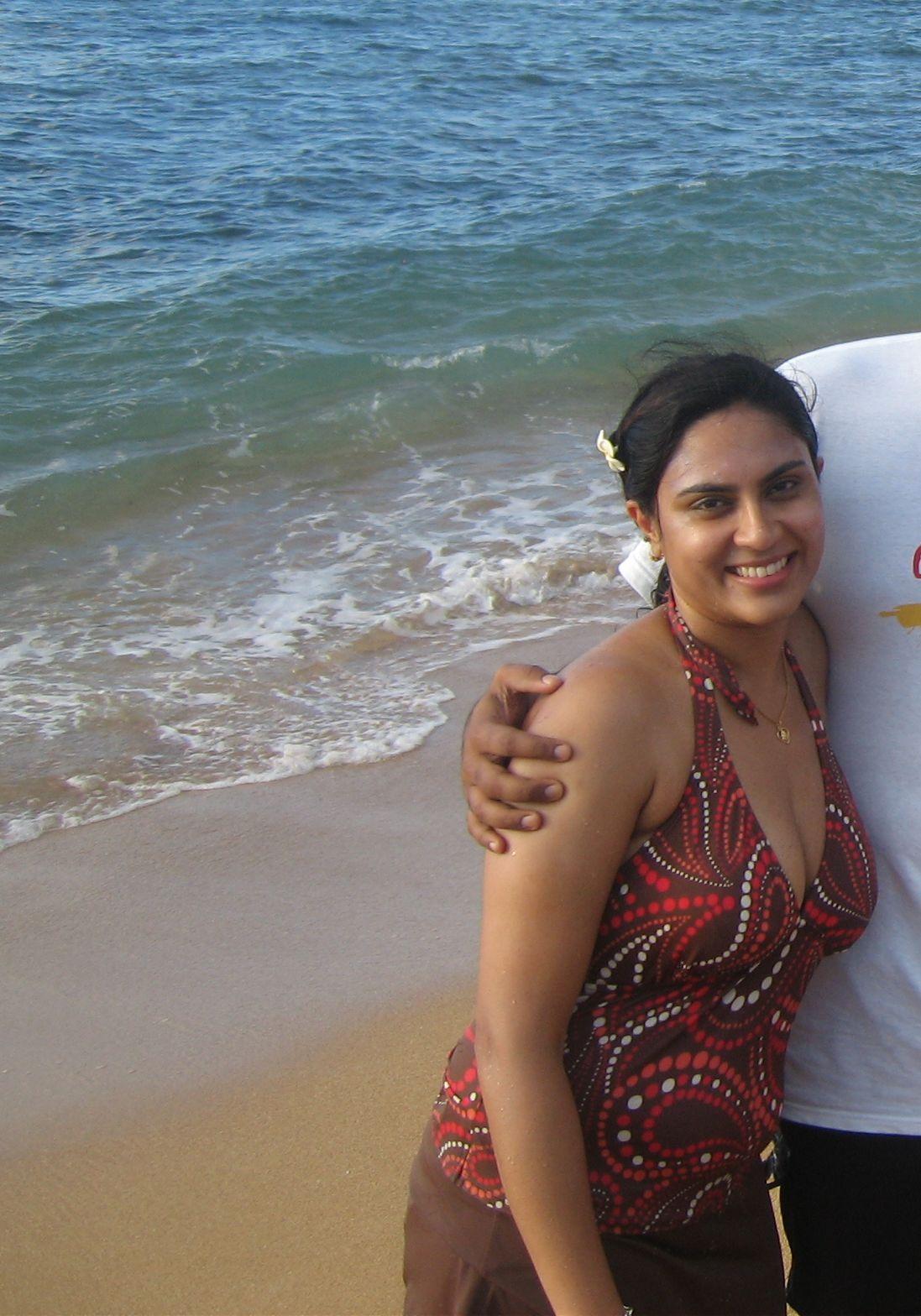 Desi Beach Nude - With you desi telugu aunty nude images congratulate ...