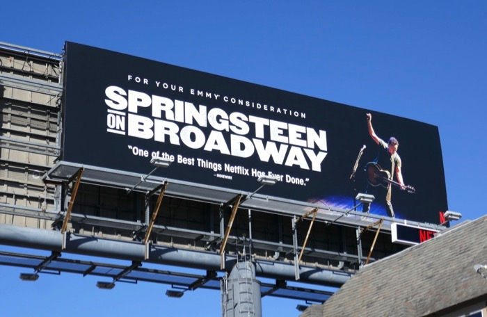 Springsteen on Broadway 2019 Emmy FYC billboard