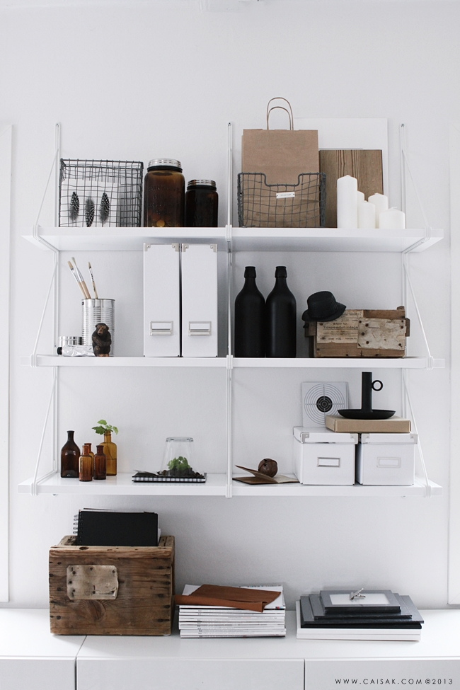 Como decorar las estanter as de tu casa alquimia deco - Estanterias para casa ...