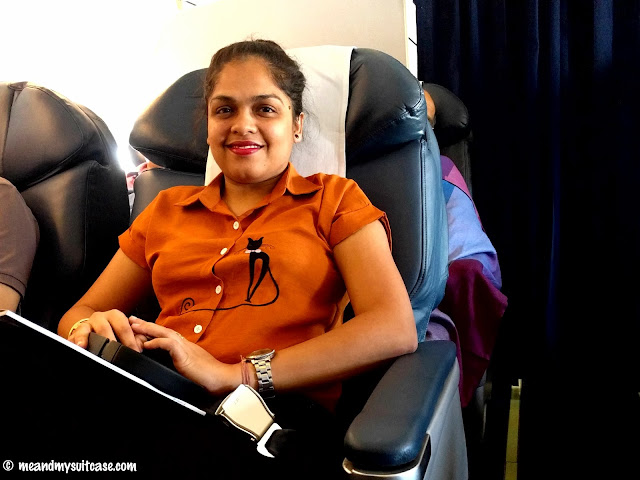jet airways seat