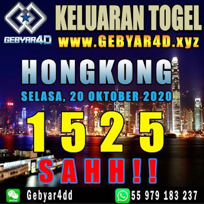 KELUARAN HONGKONG 20 OKTOBER 2020