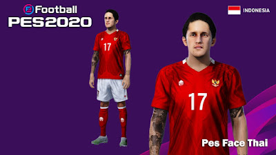 PES 2020 Faces Irfan Bachdim by PESFaceThai