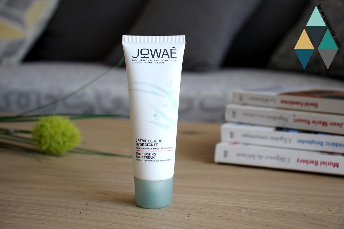 avis et test crème légère hydratante jowaé