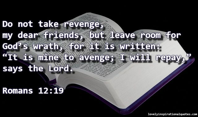 bible+verses+about+seeking+revenge