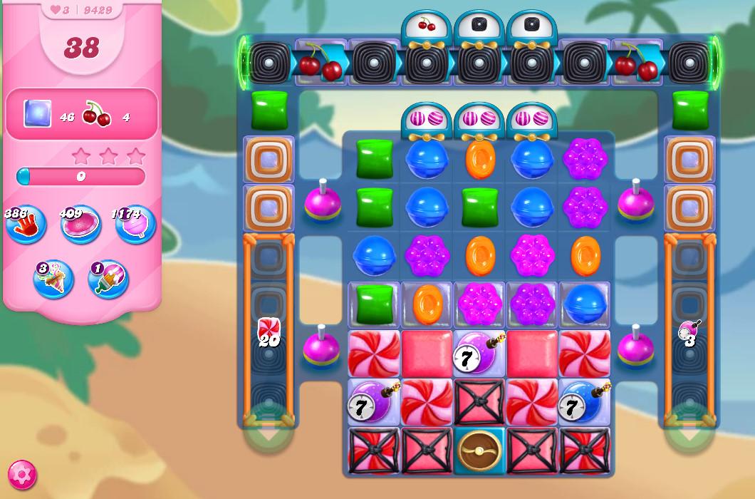 Candy Crush Saga level 9429