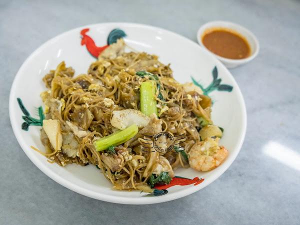 Gou Lou Hong Kee Chao Sar Hor Fun & Noodles 高佬鸿记炭炒沙河粉面食 @ Campbell Street, Georgetown, Penang