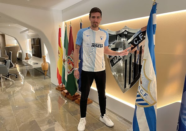 El Málaga presentará este miércoles a Scepovic