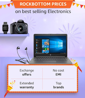 Amazon Great Indian Festival laptop Offer 25th September, 2019