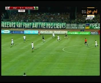 اهداف مباراة مولودية بجاية والزمالك1-1   دوري أبطال افريقيا   19-4-2016