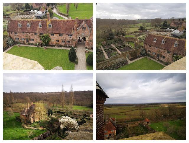 Views from Sissinghurst Castle Garden Tower